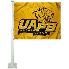 Arkansas Pine Bluff Golden Lions Car Auto Window Flag