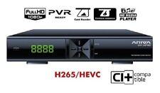ARIVA 254 Combo, H.265, CI+ DVB-S2, DVB-T2, DVB-C, HD Media Player, WEB Services