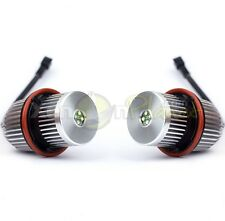 BMW E39 E60 E61 E65 E66 E53 X5 25W CREE LED Angel Eyes Halo Rings Upgrade Bulbs
