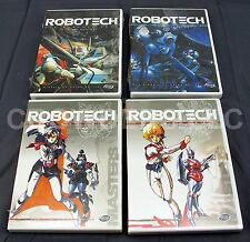 RoboTech Macross Saga & Masters DVD Collection 4 Discs ADV Film Harmony Gold NEW