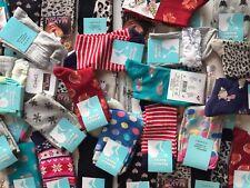 40 pairs ladies women luxury socks coloured design cotton blended size 4-7 BNFJG