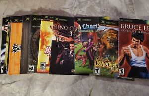 Microsoft Xbox Instruction Booklets Manuals -- SHIPPING DISCOUNT AFTER FIRST ONE
