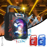 Portable bluetooth Speaker Wireless Outdoor Stereo Waterproof TF/AUX FM/US