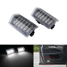 2x LED Luz de puerta escalón lateral de cortesía para mercedes W176 W246 W204 W205 W212 W213