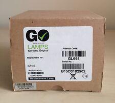 Go fluocompactes gl698 Projector Lamp Module for SAGEM MDP 2000,mdp 2000-x, Sagem slp510