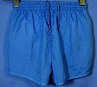 Superdry International Swim Shorts Mens Medium Blue Adjustable Tabs  NEW A72-02