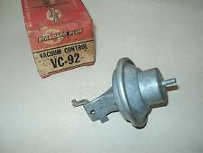 DIST VACUUM CONTROL 62-63 DODGE A/T V8 62-63 PLYMOUTH A/T V8 VC-92 VC92