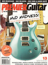PREMIER GUITAR March 2013 Bob Bradshaw Bad Religion Eric Bibb Habib Koite