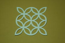 10 Sizzix Lattice Die Cuts *You pick card stock colors - See pic's