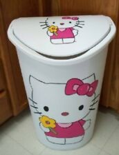 HELLO KITTY TRASH CAN /LAUNDRY HAMPER BY MB MUST SEE