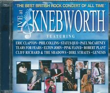 VARIOUS - LIVE AT KNEBWORTH - 2CD  ( NUOVO SIGILLATO )