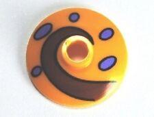LEGO - Dish 2 x 2 Inverted w/ Dark Red Swirl & Purple Spots, Snail Shell (Gary)