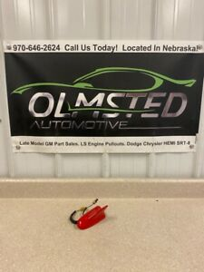 10 15 Chevrolet Camaro ZL1 SS Shark Fin Antenna OEM GM Red 22739136 Satellite