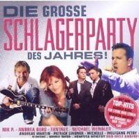 DIE GROSSE SCHLAGERPARTY DES JAHRES CD NEU