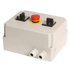 Stern-Dreieck-Schalter 4001 mit Hauptschalter + Not-Aus; bis 9,5KW, handbetätigt