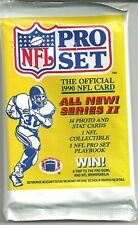 1990 3 packs Pro Set Football  Packs Series 2/ Emmitt Smith