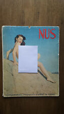 Andre De Dienes – Nus Album No 9 (1st France c 1950) Photographies Originales