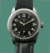 LONGINES Classic Style Vintage 1942 WWII British Army Military watch