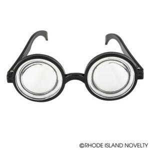 "Nerd Eye Glasses  5.5"" Magnifying Coke Bottle Nerdy Bubbles Gift TV Show Goggles"