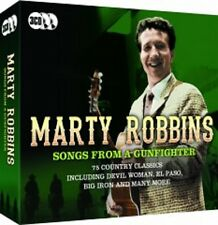 MARTY ROBBINS SONGS FROM A GUNFIGHTER 75 COUNTRY CLASSIC 3 CD BOXSET