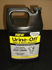 URINE OFF ODOR STAIN REMOVER DOG FORMULATE Deodorizer  ANIMAL PUPPY GALLON