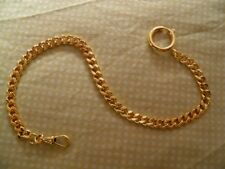 CHAIN GOLD PLATED GILETIERE FOR WATCH BAG POCKET WATCH NEW