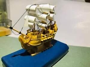 Ship wood model mini ship eco frienly hand made morden ship model