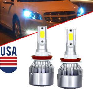 2pcs LED Headlight Bulb Low Beam For Honda Odyssey 2011-2018 H11 10000k ICE Blue