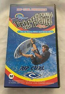 Déclenchement The Planet VHS Bande Rip Curl 1995 Rare Surf 15 + Sonny Miller