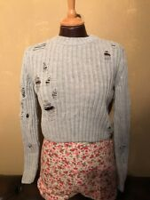 """HOT!MESS HOT MESS HOTMESS BAZIIC BAZIC  RECKLESS MOTH JUMPER UK8 XS 34"""" sold out"""