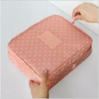 #1 Travel Cosmetic Makeup Bag Toiletry Case Hanging Pouch Wash Organizer Storage