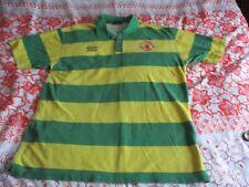 "Manchester United Vintage ""Newton Heath/Anti abrillantadora Polo Camisa 1992-94 XL"