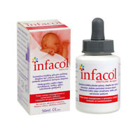 INFACOL 50ml Baby Anti Colic & Griping Pain Relief Suspension Drops