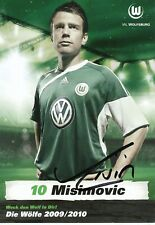 Zvjezdan Misimovic   VFL Wolfsburg  Fußball  Autogrammkarte  signiert 354156