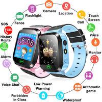 Smart Watch Bluetooth LBS GSM Locator Tracker SOS Anruf Taschenlampe Kinder Q528