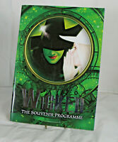Wicked Musical Official Broadway Touring Souvenir Program 2006 - Alice Fearn