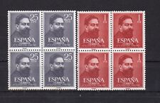 España : Edifil 1320/21 Bloque 4 ( CENTENARIO NACIMIENTO ALBENIZ ) Nuevos ( MNH)