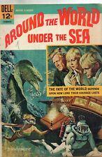 AROUND THE WORLD UNDER THE SEA /  DELL MOVIE CLASSICS 1966 / V.GOOD+.