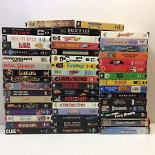 Lot of 50‼ CULT CLASSIC VHS Video Tapes Mostly 1980's 90's • Instant Collection‼