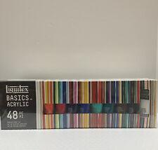 New ListingLiquitex Basics Acrylic Paint Tube 48-Piece Set