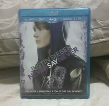 BLU-RAY & DVD COMBO PACK: JUSTIN BIEBER NEVER SAY NEVER