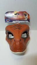 Jurassic World Dinosaur Velociraptor Mask with Opening Jaw