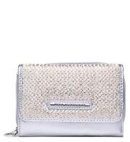 Ladies Designer Glittery Purse Metallic Purse Wallet Clutch Bag Handbag 095-186