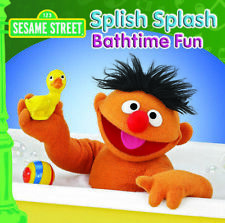 Sesame Street - Splish Splash Bathtime Fun CD ABC Music 2013 &