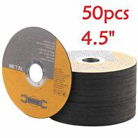 "50X 115MM 4.5"" METAL CUTTING BLADE DISC STAINLESS STEEL ANGLE GRINDER THIN 1.2MM"
