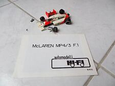 Mclaren TAG MP4/3 Alain Prost #1 1987 Hi-Fi Automodelli kit built 1/43