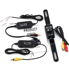Wireless AV Transmitter Receiver Car Rear View Camera For Parking Backup System