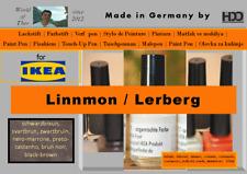 Lackstift für IKEA LINNMON / LERBERG schwarz-braun