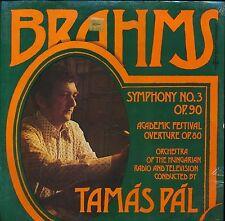 BRAHMS SYMPHONY 3 TAMAS PAL HUNGARIAN RADIO ORCH HUNG SLPX 11734 SEALED