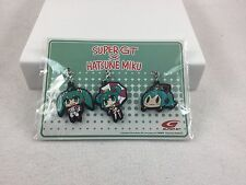 Anime Expo 2016 Goodsmile Racing Hatsune Miku Set 3 Cel phone Charms Super GT